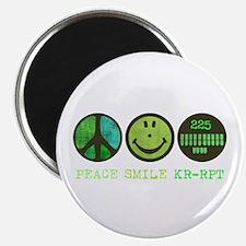 Peace Smile 225 Magnet