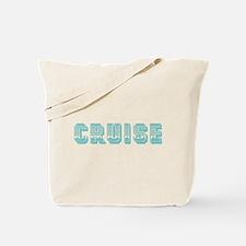 Cruise (blue) Tote Bag