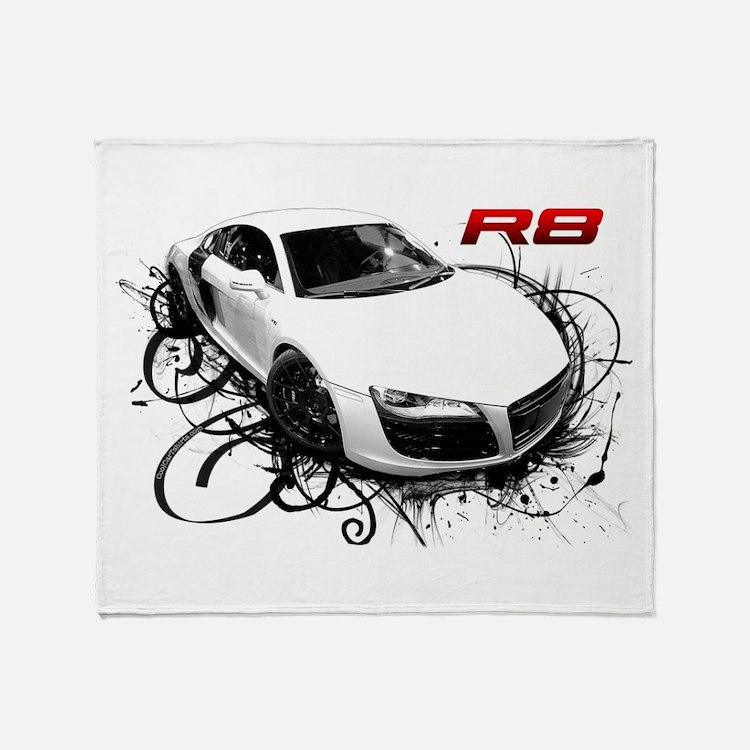 Cute R8 Throw Blanket