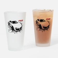 Funny V8 Drinking Glass