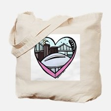 New Orleans Valentine's Candy Heart Tote Bag