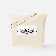 Tribal Scorpio Symbol Tote Bag