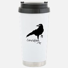 Corvidae Stainless Steel Travel Mug