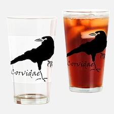 Corvidae Drinking Glass