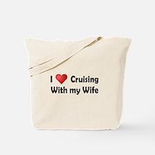 I Heart Cruising (wife) Tote Bag