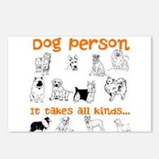 Dog Person Postcards (Package of 8)