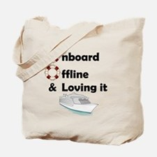 Onboard & Offline Tote Bag