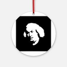 """Samuel Johnson"" Ornament (Round)"