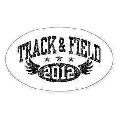 Track & Field 2012 Decal