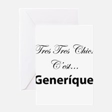 Cute Francophile Greeting Card
