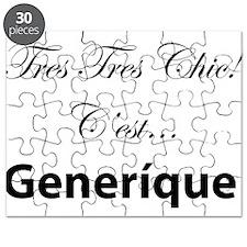 Cute Francophile Puzzle