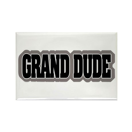 Grand Dude Rectangle Magnet