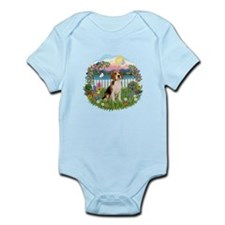 Garden-Shore-Beagle#3 Infant Bodysuit