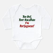 Bet Your Bacalhau Long Sleeve Infant Bodysuit