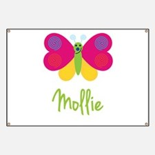 Mollie The Butterfly Banner