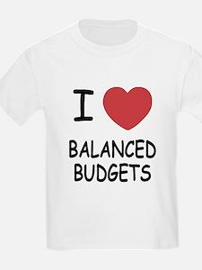 I heart balanced budgets T-Shirt