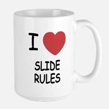 I heart slide rules Mug
