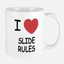 I heart slide rules Mug