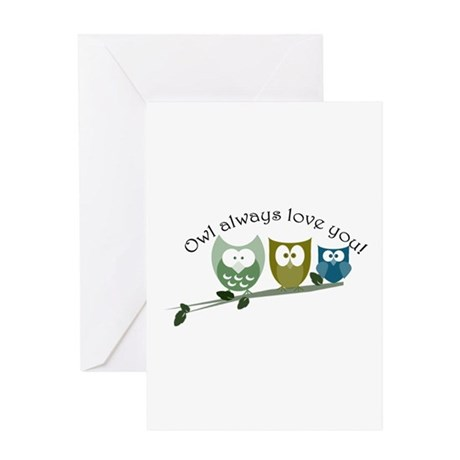 Owl always love you! Greeting Card