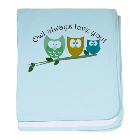 Owl always love you! baby blanket