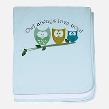 Owl always love you! baby blanket