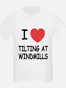 I heart tilting at windmills T-Shirt