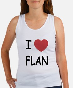 I heart flan Women's Tank Top