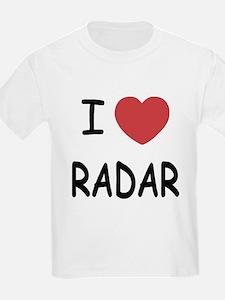 I heart radar T-Shirt
