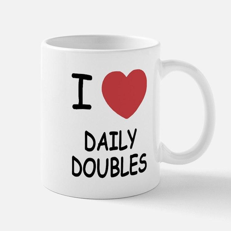 I heart daily doubles Mug