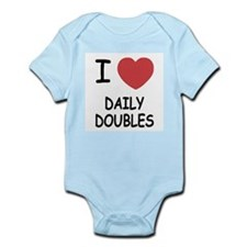 I heart daily doubles Infant Bodysuit