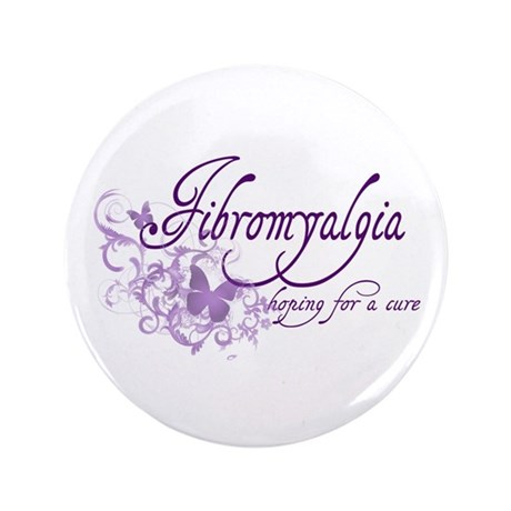 "Fibromyalgia / Cure 3.5"" Button (100 pack)"