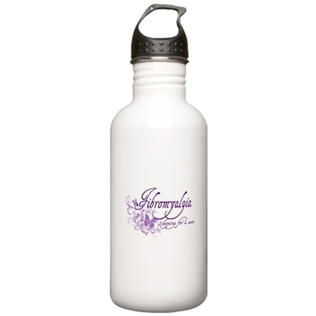 Fibromyalgia / Cure Stainless Water Bottle 1.0L