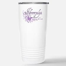 Fibromyalgia / Cure Stainless Steel Travel Mug