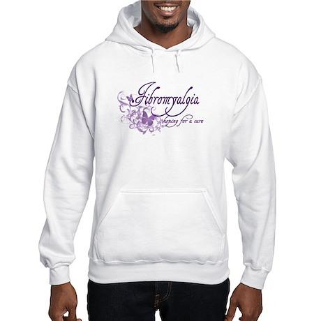 Fibromyalgia / Cure Hooded Sweatshirt