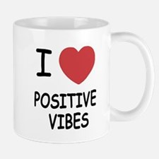 I heart positive vibes Mug