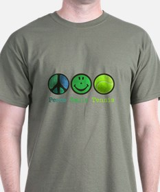 Smile and TENNIS T-Shirt