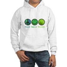 Smile and TENNIS Hoodie