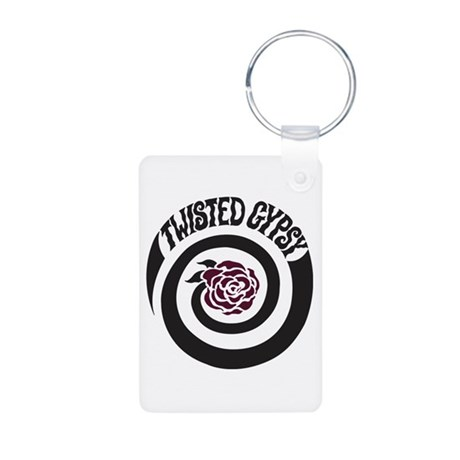 Twisted Gypsy Aluminum Photo Keychain