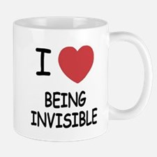 I heart being invisible Mug