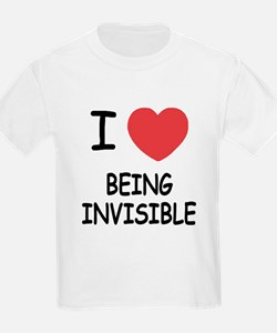 I heart being invisible T-Shirt