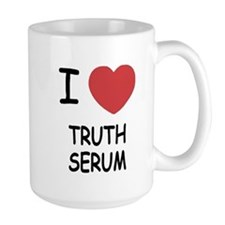 I heart truth serum Mug