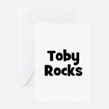 Toby Rocks Greeting Cards (Pk of 10)