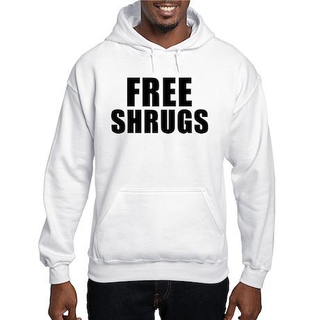 Free Shrugs Hooded Sweatshirt