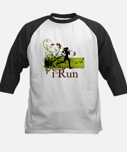 iRun Decorative Running Girl Tee