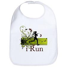 iRun Decorative Running Girl Bib