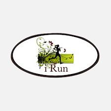 iRun Decorative Running Girl Patches