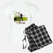iRun Decorative Running Girl Pajamas