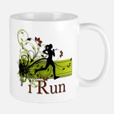 iRun Decorative Running Girl Mug
