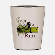 iRun Decorative Running Girl Shot Glass