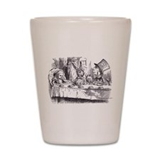 Mad Tea Party Shot Glass